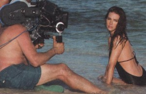 Evangeline Lilly - Davidoff Cool Water BTS