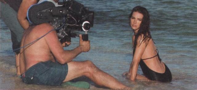 Evangeline Lilly - Davidoff Cool Water BTS