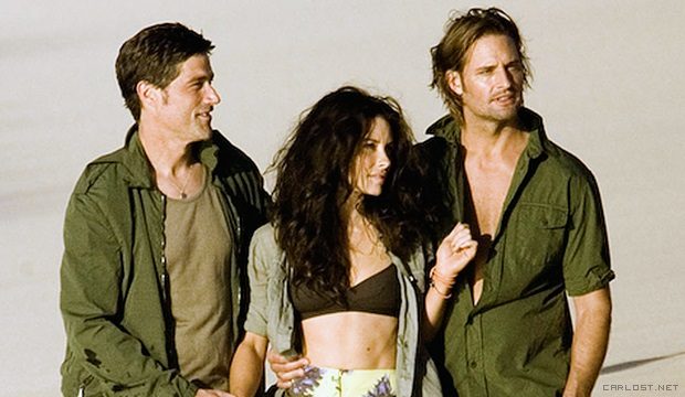 Matthew Fox, Evangeline Lilly, Josh Holloway - Vanity Fair Photoshoot BTS