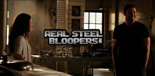 Evangeline Lilly, Hugh Jackman, Dakota Goyo - Real Steel (2011) Bloopers