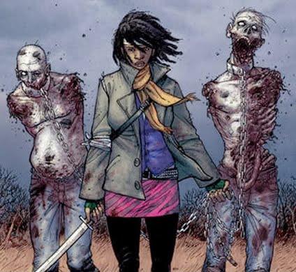 Revelada la actriz que interpretará a Michonne en The Walking Dead