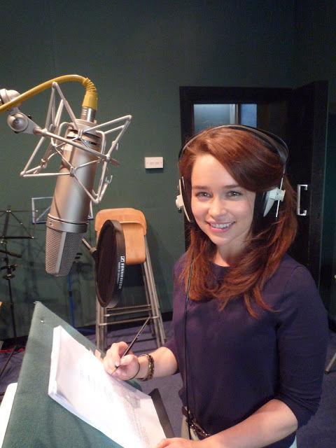 Emilia Clarke en Futurama