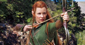 Evangeline Lilly como Tauriel en The Hobbit