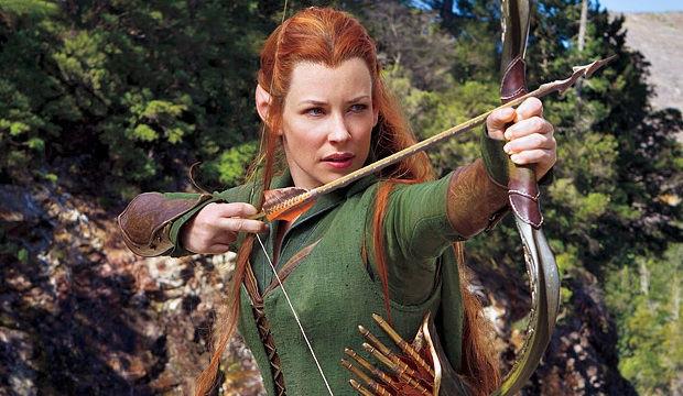Evangeline Lilly como Tauriel en The Hobbit