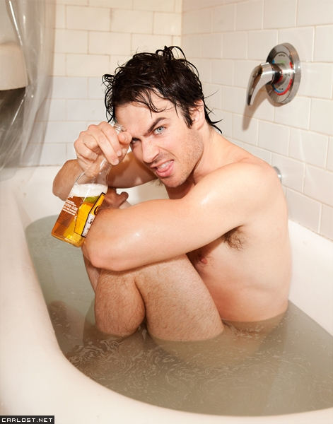 Ian Somerhalder Naked Photoshoot 2013