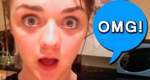 Maisie Williams OMG Game of Thrones