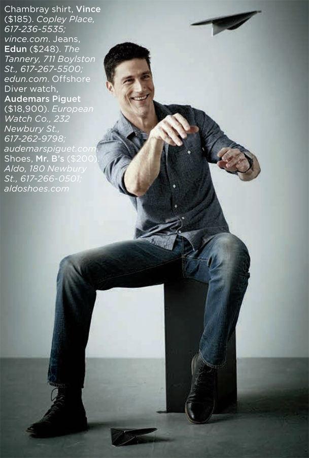 Matthew Fox - Boston Common Magazine Photoshoot 2013
