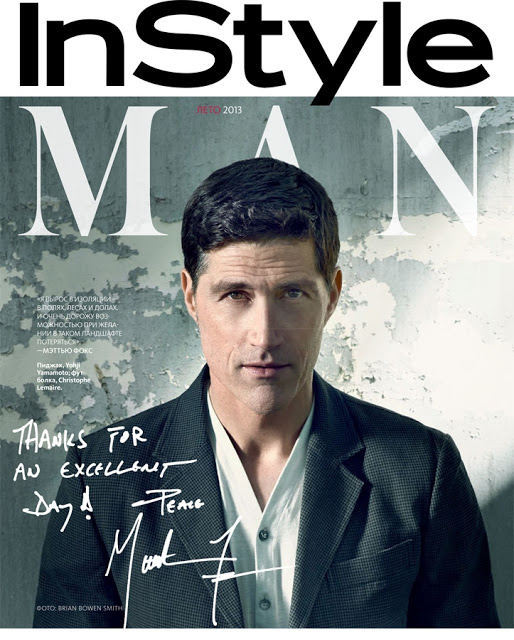 Matthew Fox - InStyle Man Magazine Photoshoot 2013