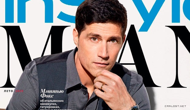 Matthew Fox Instyle Man Russia Photoshoot