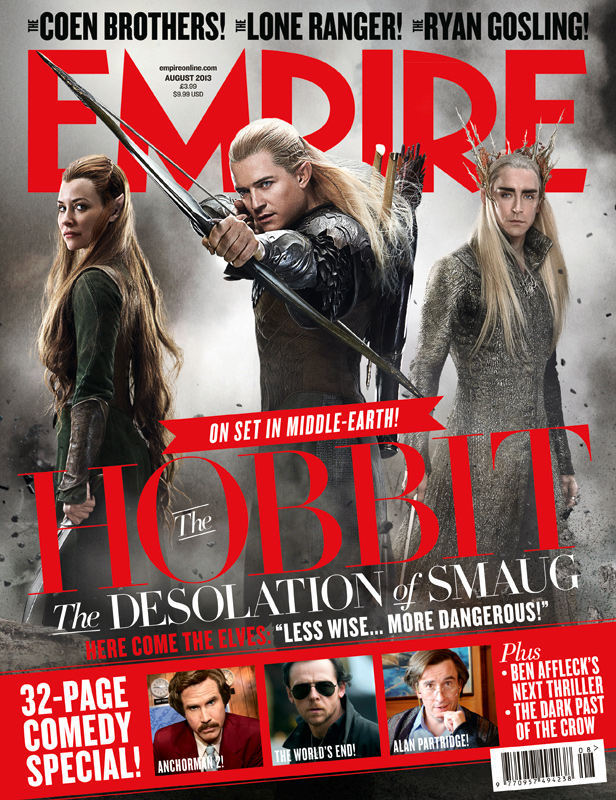 The Hobbit: The Desolation of Smaug - Empire Magazine Cover(Aug 2013)