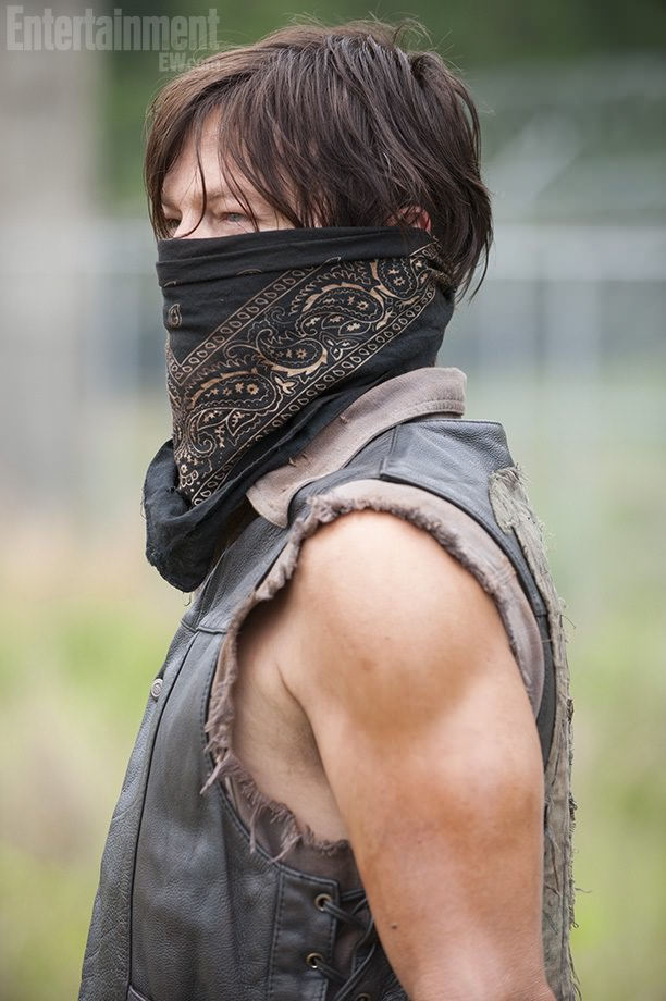 Daryl Dixon en The Walking Dead Temporada 4