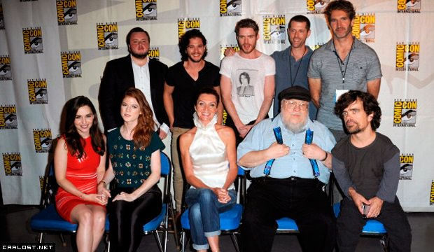 Game of Thrones Panel - Comic Con 2013