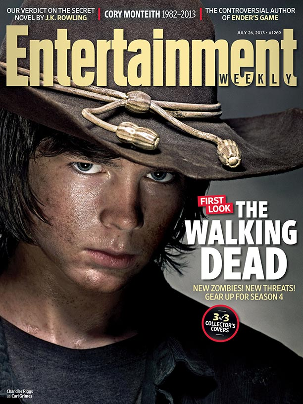 The Walking Dead S4 EW Cover