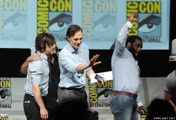 The Walking Dead Panel Comic-Con 2013