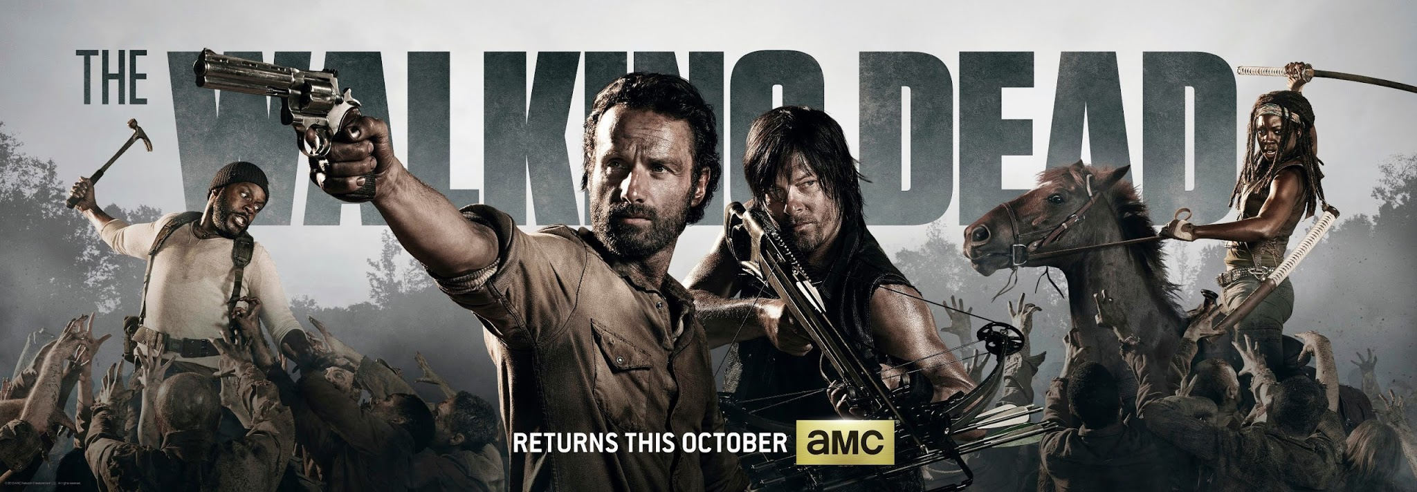 The Walking Dead Poster Temporada 4 HQ
