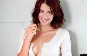 Lauren Cohan Sexy Maxim Photoshoot (Maxim Magazine)