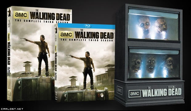 The Walking Dead Tercera Temporada DVD & Blu-ray