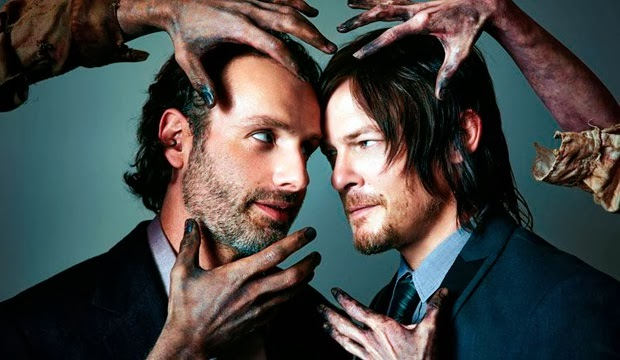 Andrew Lincoln - Norman Reedus - Atlanta Magazine Photoshoot 2013