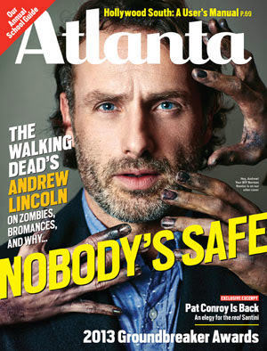 Andrew Lincoln - Atlanta Magazine Cover