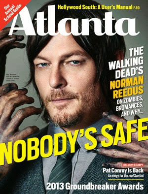 Norman Reedus - Atlanta Magazine Cover