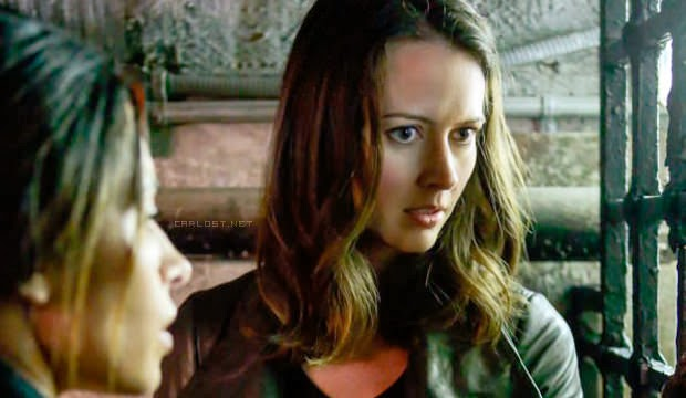 Shaw y Root en Person of Interest 3x06