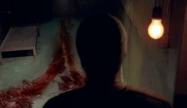 Tyreese descubre un rastro de sangre