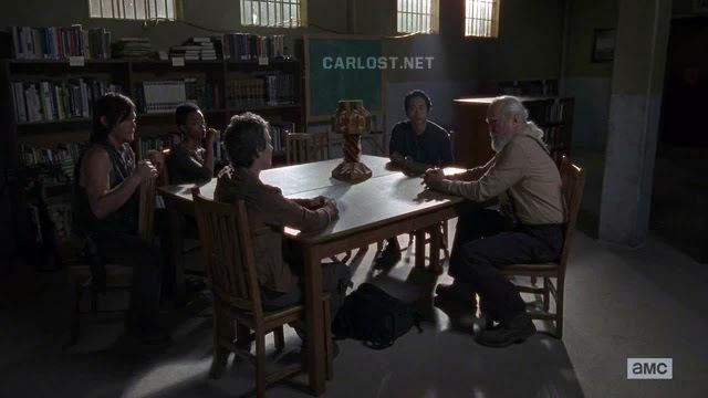El Consejo en The Walking Dead 4x02