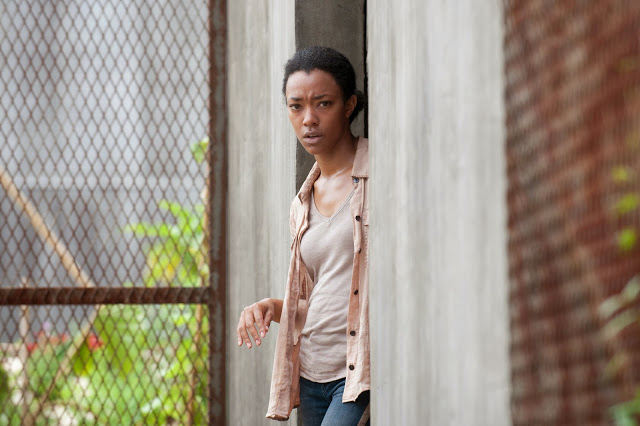 Sasha en The Walking Dead 4x03 Isolation