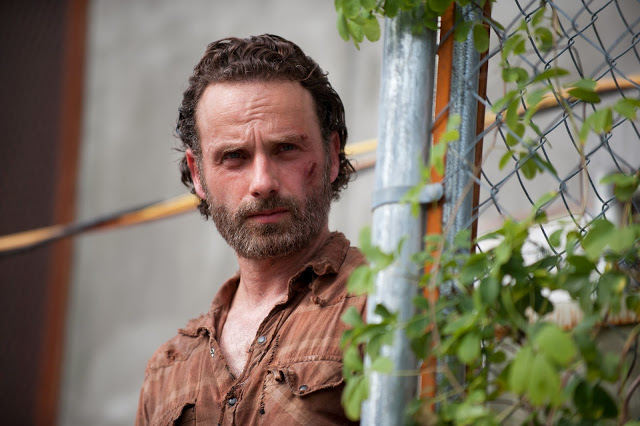 Rick en The Walking Dead 4x03 Isolation