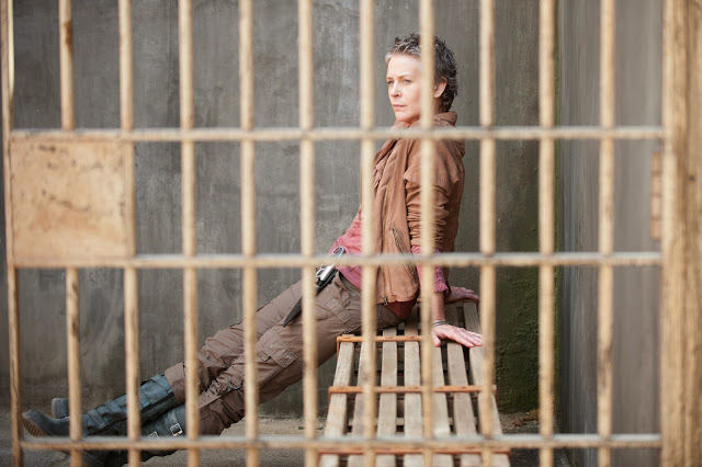 Carol en The Walking Dead 4x03 Isolation
