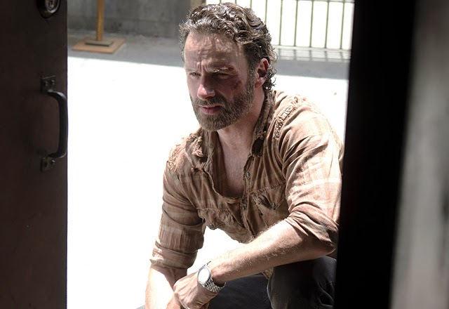 Rick Grimes en The Walking Dead 4x03 Aislamiento