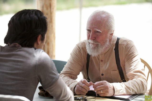 Glenn y Hershel en The Walking Dead 4x03 Isolation