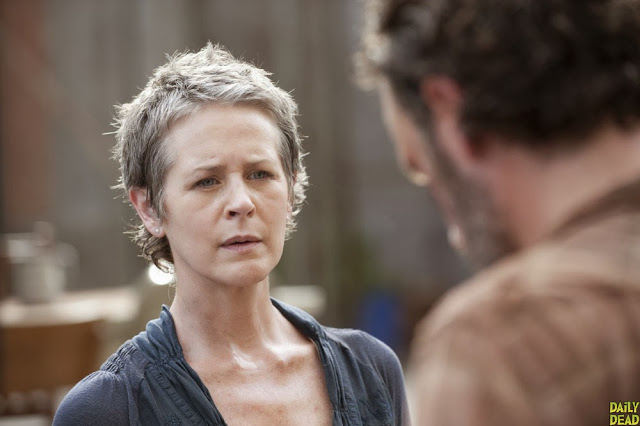 Carol y Rick en The Walking Dead 4x03 Isolation