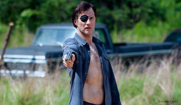 El Gobernador (David Morrissey) en The Walking Dead 4x07