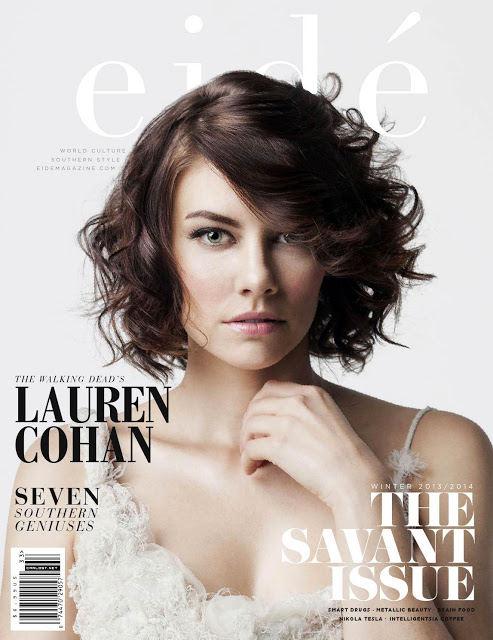 Lauren Cohan - Eidé Magazine 2013/2014 Cover