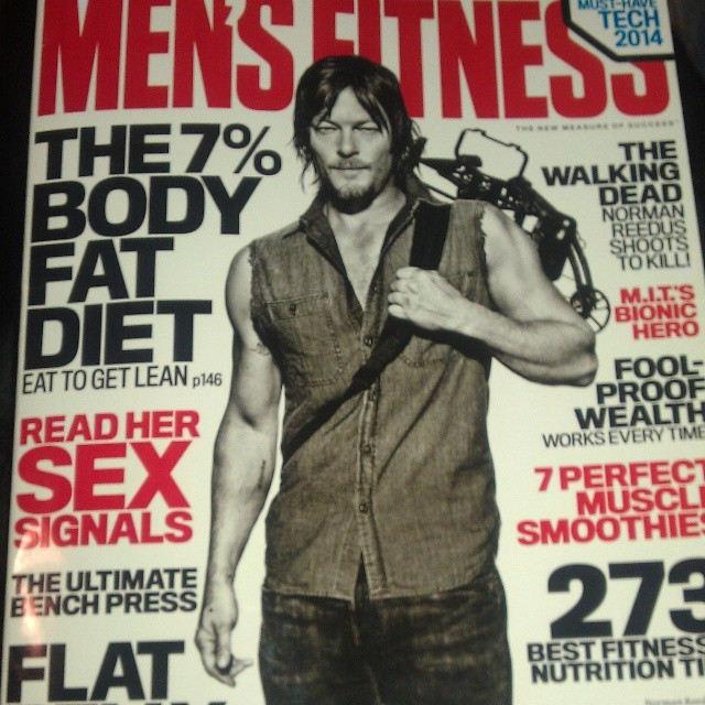 Norman Reedus - Men's Fitness Magazine Photoshoot (Diciembre 2013)