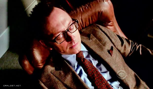 Harold Finch (Michael Emerson) en Person of Interest 3.07 The Perfect Mark