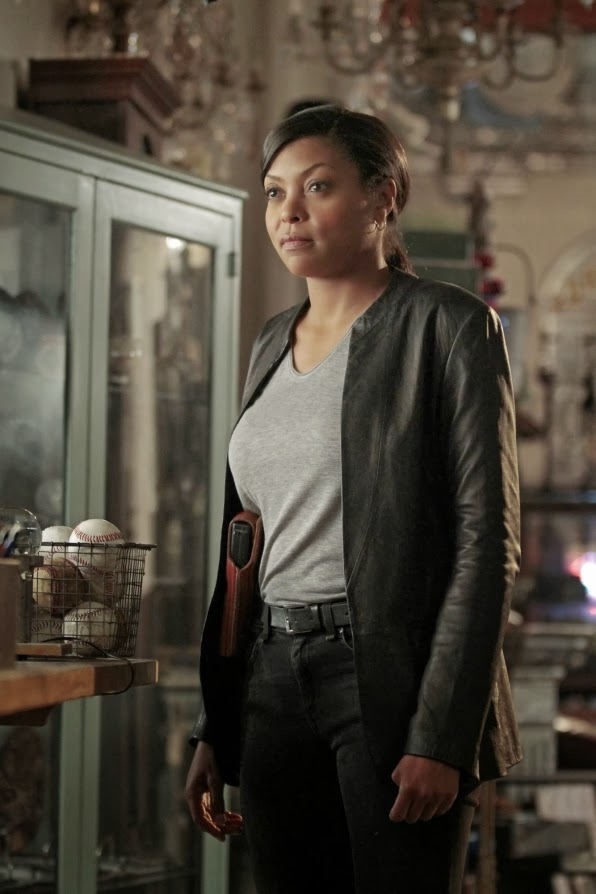 Carter (Taraji P.Henson) en Person of Interest 3x07