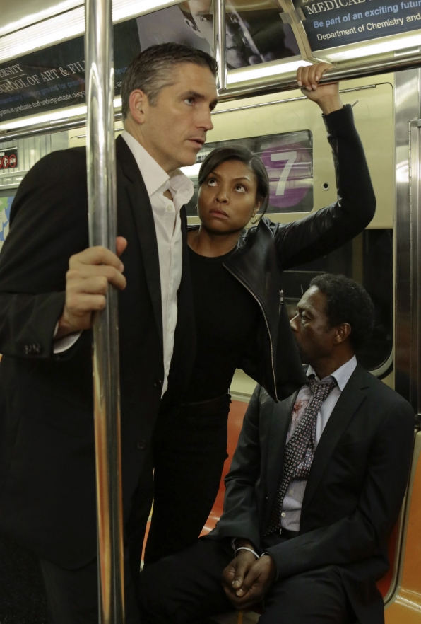 John Reese, Carter y Alonzo Quinn en Person of Interest 3x09
