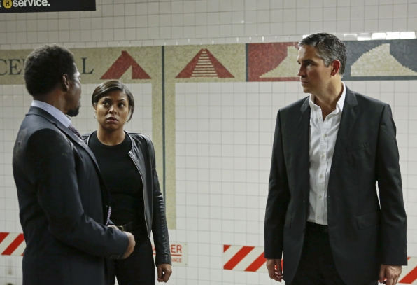 Alonzo Quinn, Carter y John Reese en Person of Interest 3x09