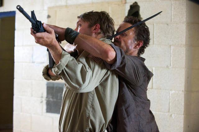 Sebastian Monroe (David Lyons) en Revolution 2x09