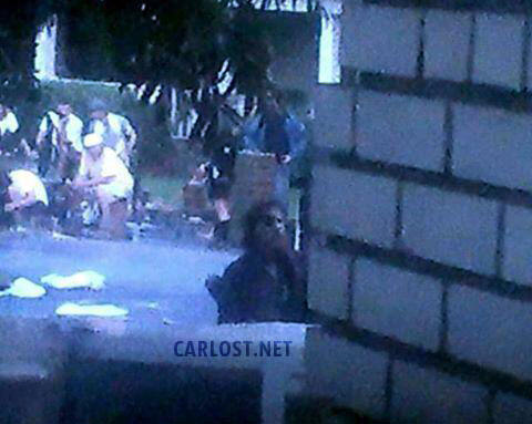 Spoiler The Walking Dead 4x06 El Gobernador con barba en el set de rodaje