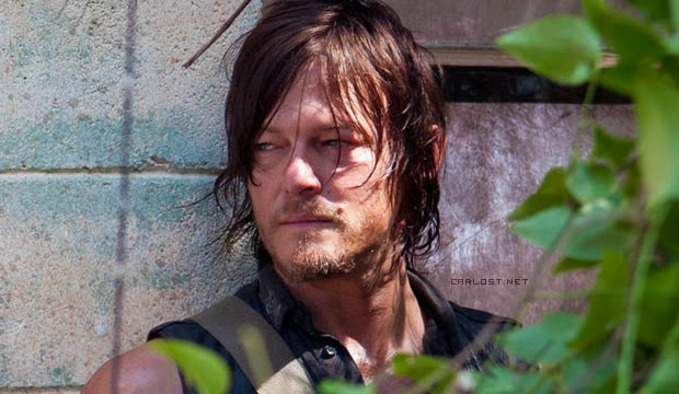 Daryl Dixon (Norman Reedus) en The Walking Dead 4x04 Indifference