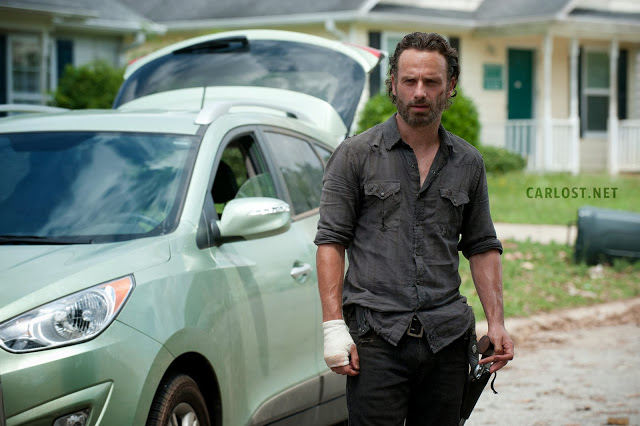 Rick Grimes (Andrew Lincoln) en The Walking Dead 4.04 Indifference