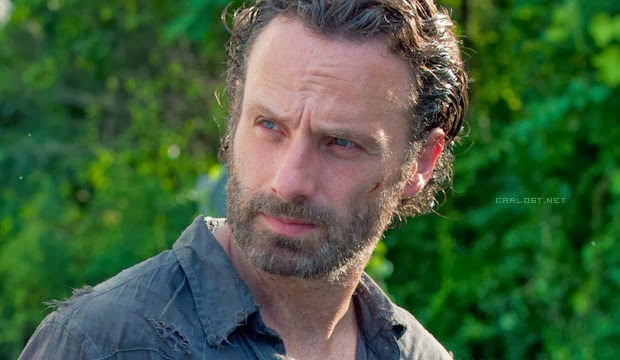 Rick Grimes (Andrew Lincoln) en The Walking Dead 4x04 Indifference