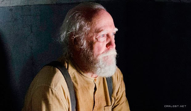 Hershel (Scott Wilson) en The Walking Dead 4x05 Internment (Internamiento)