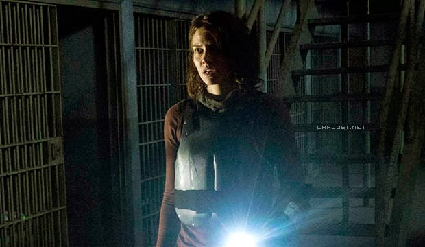 Maggie (Lauren Cohan) en The Walking Dead 4x05 Internment
