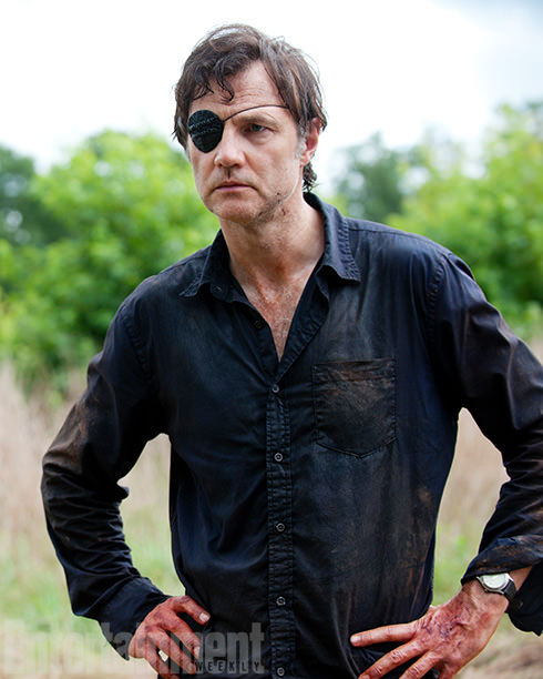 El Gobernador (David Morrissey) en The Walking Dead 4x06 Live Bait