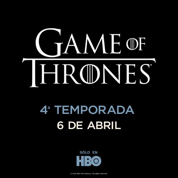 Game of Thrones Cuarta Temporada