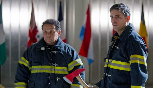 Fusco y Reese en Person of Interest 3x18